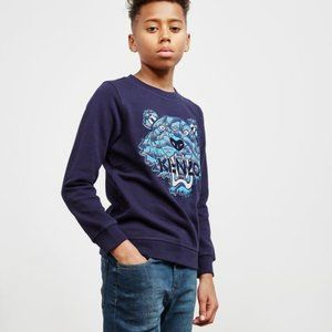 Kenzo Navy Blue Tiger Sweatshirt